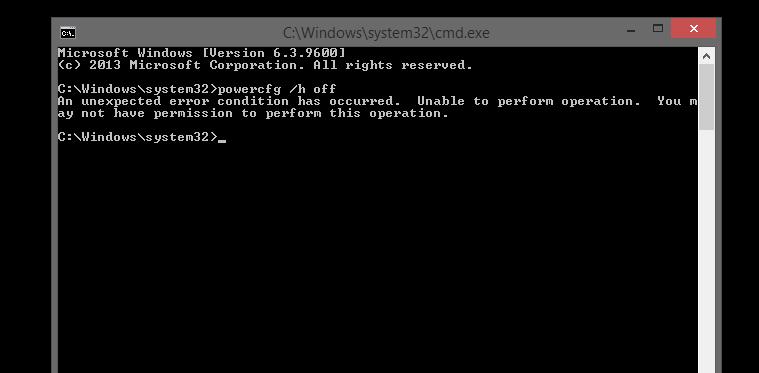 disable hibernate windows 7 command line لم يسبق له مثيل الصور + E-FRONTA.INFO